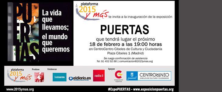 La exposición PUERTAS llega a Madrid