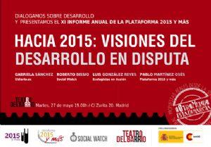 Presentamos el XI Anuario de la Plataforma 2015 y más