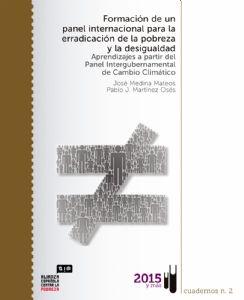 Formación de un panel internacional para la erradicación de la pobreza y la desigualdad