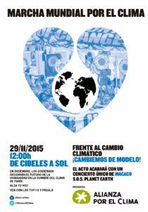 La Alianza contra la Pobreza y la desigualdad se une a la convocatoria de la Marcha Mundial por el Clima