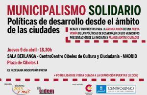 MUNICIPALISMO SOLIDARIO. Políticas de desarrollo en el ámbito de las ciudades.