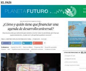 ¿Cómo y quién tiene que financiar una agenda de desarrollo universal?