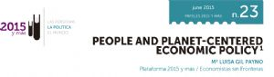 People and Planet-Centered Economic Policy