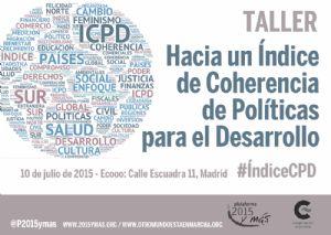 Taller: Hacia un Índice de Coherencia de Políticas para el Desarrollo